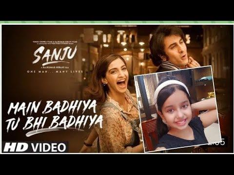 SANJU Main Badhiya Tu Bhi Badhiya Dance Ranbir Kapoor | Sonam Kapoor | Sonu Nigam | Sunidhi