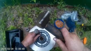 Замена переднего тормозного диска на газели.