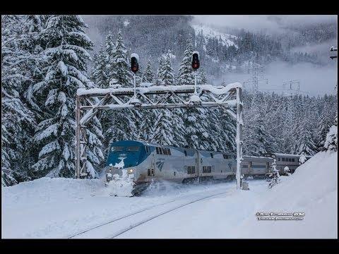 Amtrak #7 Plight to Cross Stevens Pass