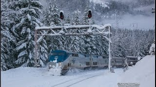 Amtrak #7 Plight to Cross Stevens Pass