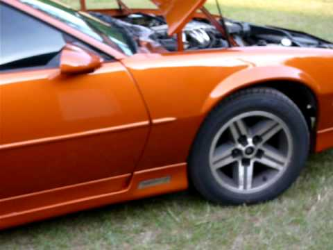 Camaro Iroc Z >> 1986 IROC-Z Camaro, Atomic Orange - YouTube
