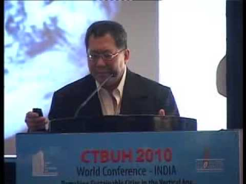 """CTBUH 2010 Mumbai Conference - Ken Yeang, """"The Ecoskyscraper: Critical Regionalist Considerations"""""""