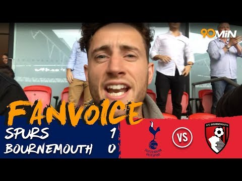 Tottenham 1-0 Bournemouth | Eriksen scores to give spurs first Wembley PL win! | FanVoice