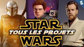 STAR WARS : TOUS les FILMS, Séries et Jeux Vidéo qui arrivent !