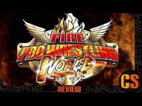 FIRE PRO WRESTLING WORLD - REVIEW