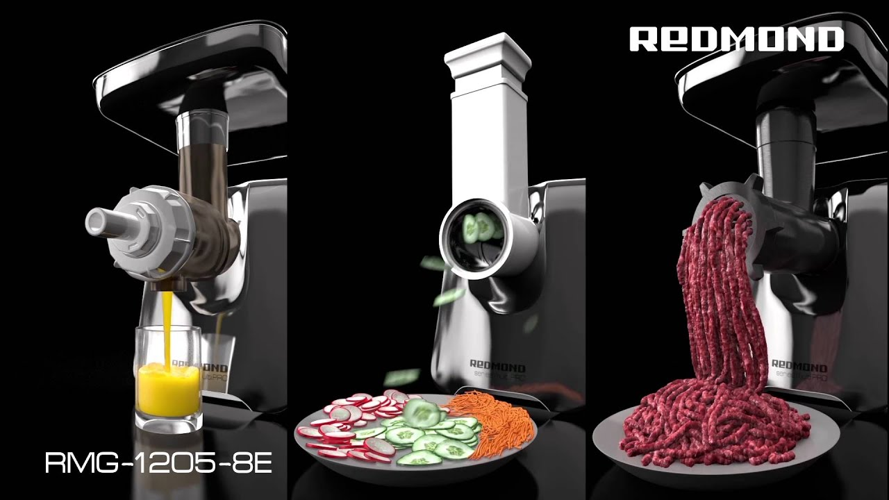 Meat grinders Redmond: customer reviews of the best models 49