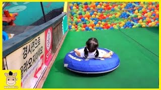 Indoor Playground Learn Colors Color Ball Slide Family Kids Fun for Play Rainbow | MariAndKids Toys