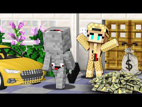 ICH ZIEHE bei MILLIONÄRIN EIN in Minecraft !