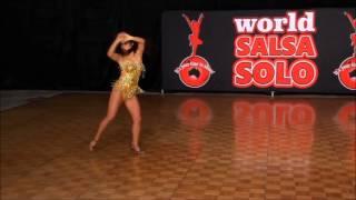 Salsa Solo 2015 - Amateur Female Salsa Soloist - Yan Zhou