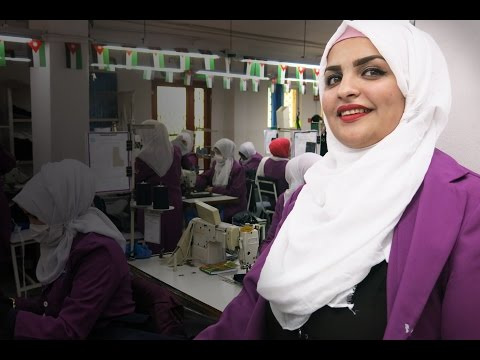 #BeBoldForChange - Garment Workers in Jordan on International Women's Day