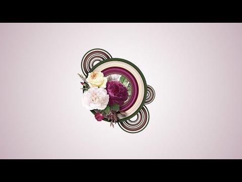 Circular Pixel Stretch Effect - On Flower - Photoshop CC & CS6