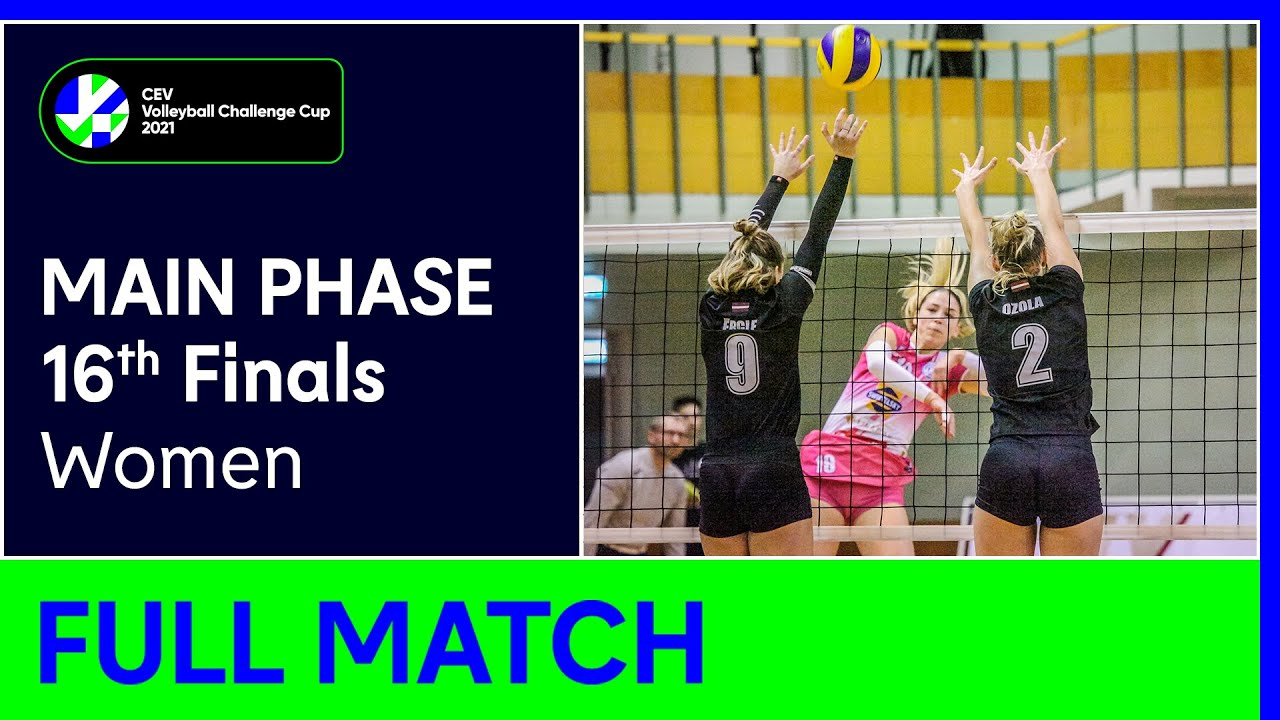 TJ OSTRAVA vs. RIGAS Volejbola Skola - CEV Volleyball Challenge Cup 2021 Women 16th Finals