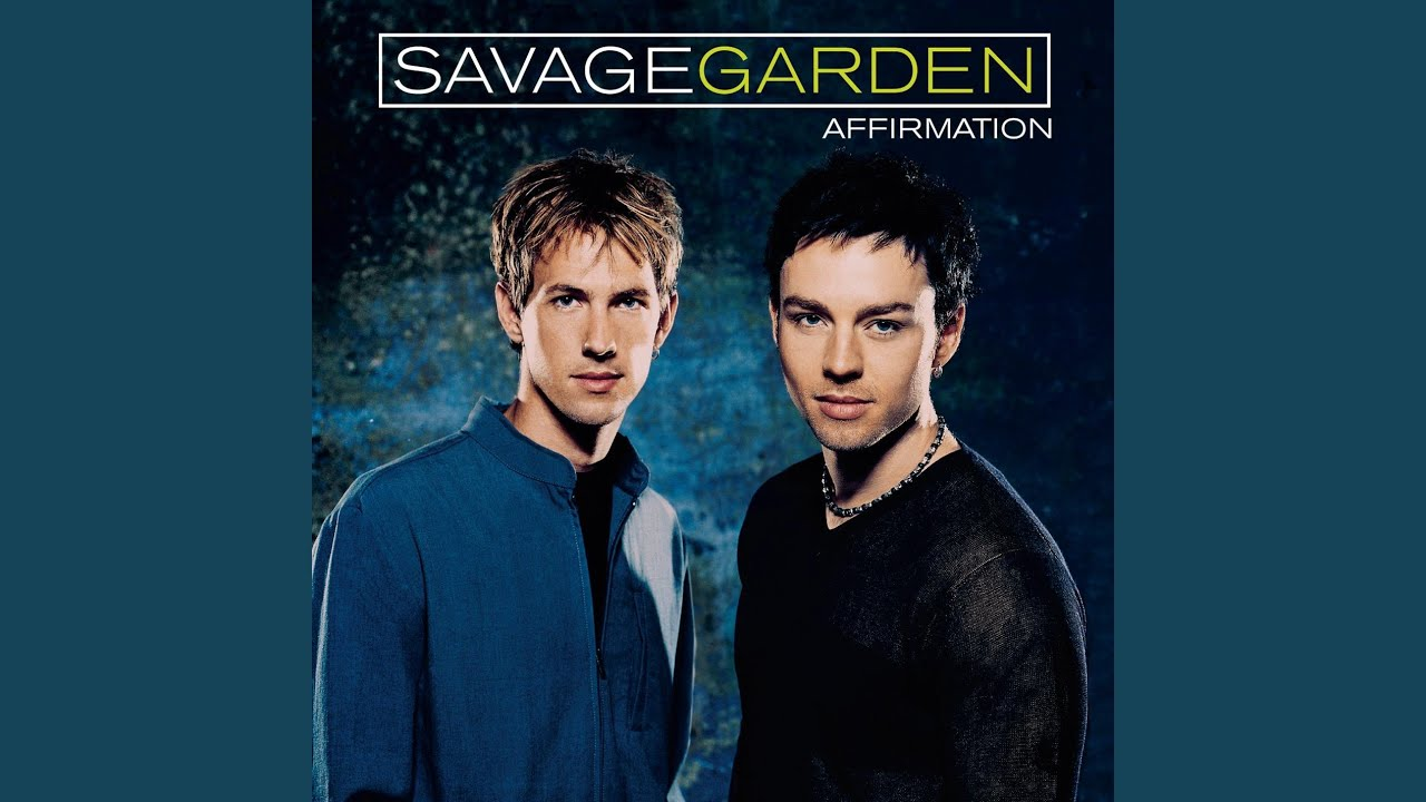 I knew i loved you youtube for I knew i loved you by savage garden