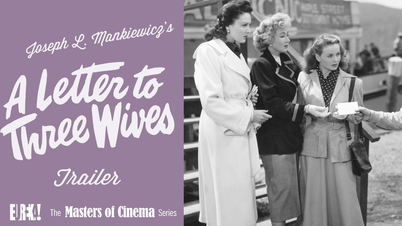 a letter to three wives a letter to three 1949 masters of cinema 12482