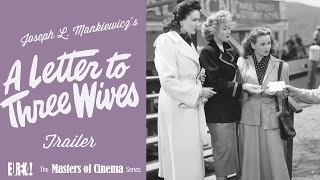 A Letter to Three Wives (1949) (Masters of Cinema)