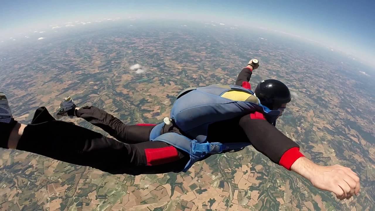 chute libre 41 km