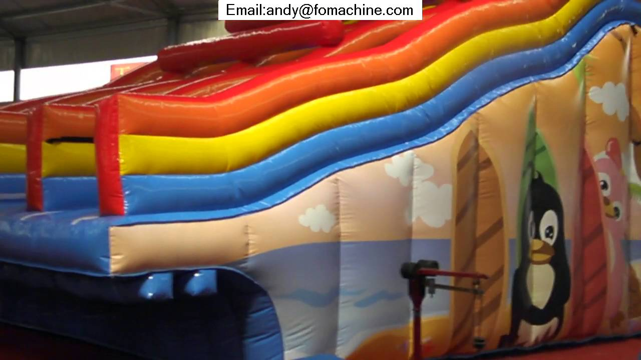 best inflatable water slides youtube