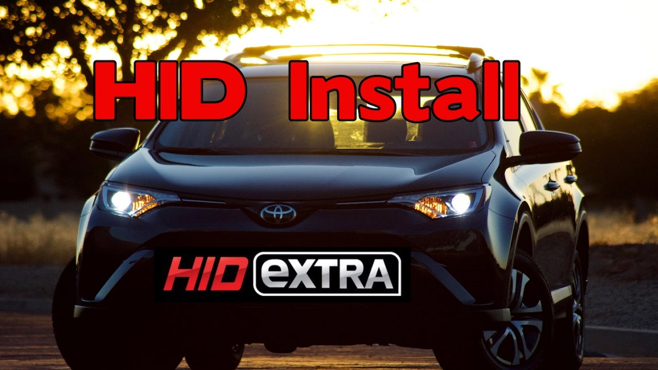 Hid headlight install 2017 toyota rav 4 youtube hid headlight install 2017 toyota rav 4 sciox Image collections