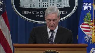 WATCH: Mueller says charging Trump was 'not an option we could consider'