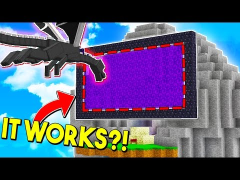 SENDING THE ENDERDRAGON TO THE NETHER in MINECRAFT BED WARS?!