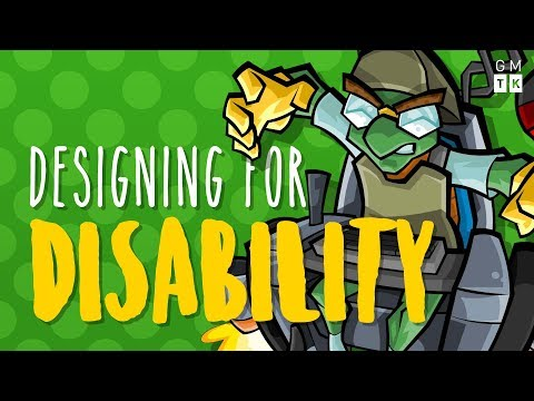 Making Games Better for Players with Motor Disabilities | Designing for Disability