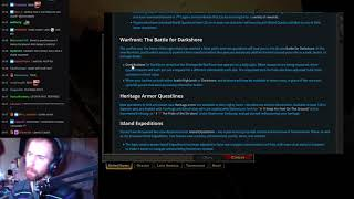 Asmongold Reviews 8.1 Patch Notes For World of Warcraft