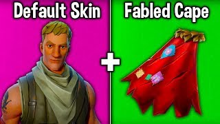 5 TRYHARD DEFAULT SKIN - BACKBLING COMBOS in FORTNITE Battle Royale! (Combinaisons D'essai de Fortnite)