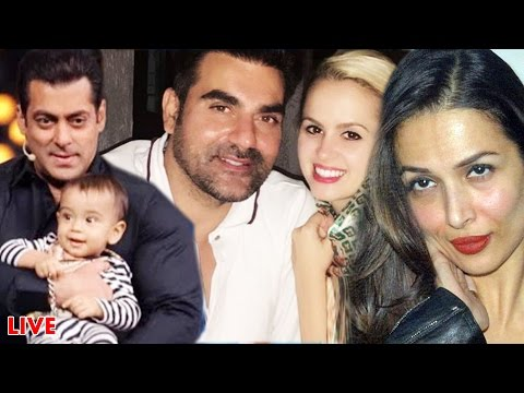 Arbaaz Khan In LOVE With Romanian Gf Alexandra Post DIVORCE, Salman - Ahil's CUTE Moments