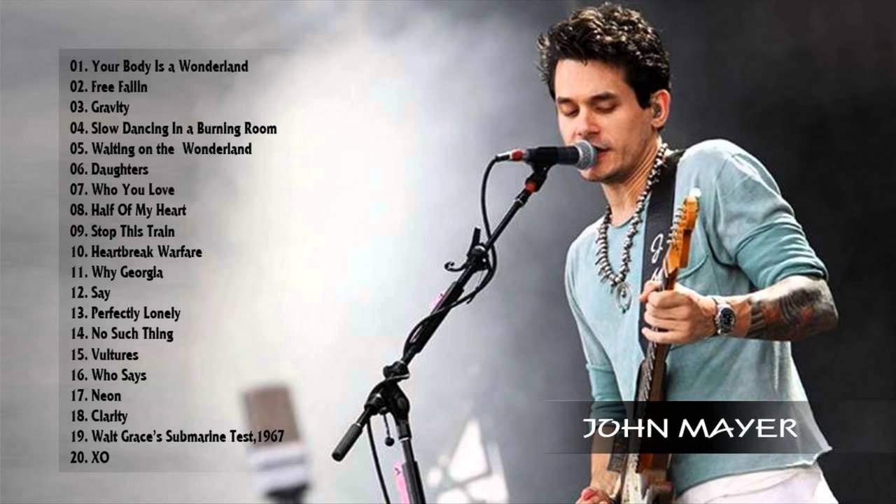 John Mayer Greatest hits - Collection HD/HQ - YouTube