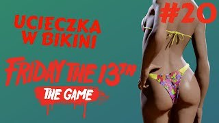 Friday the 13th: The Game PL - Niezła Laska Ucieka od Jasona | gameplay po polsku