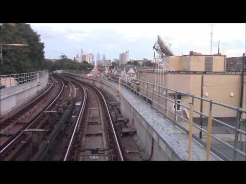 [60 FPS] SEPTA Market Frankford Line Ride