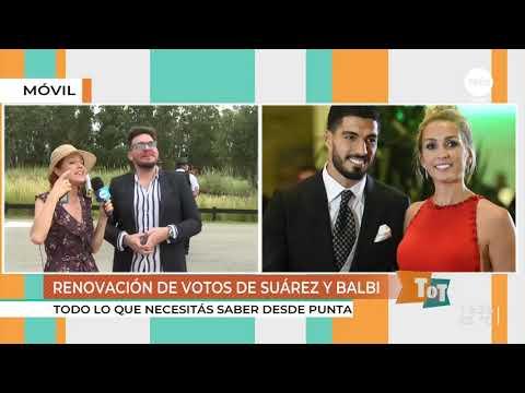 Luis Suárez Y Sofía Balbi Renovarán Votos Con La Música De Karol G, Damas Gratis Y Agustín Casanova