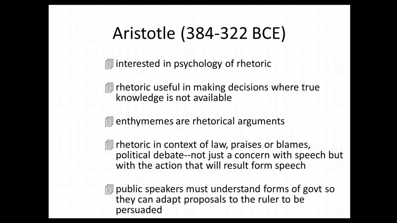 aristotle rhetoric book 1 summary