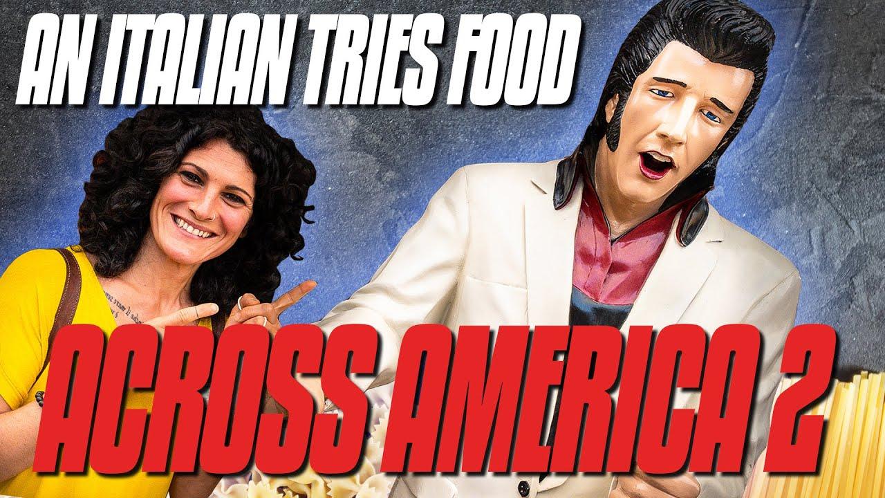 An Italian Tries Food Across America   USA Road Trip - Part 2