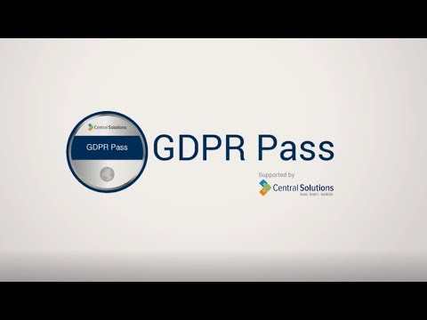 GDPR Staff Awareness Online Training - Central Solutions