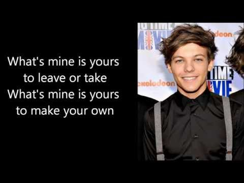 Louis Tomlinson Look After You Cover (+Lyrics)