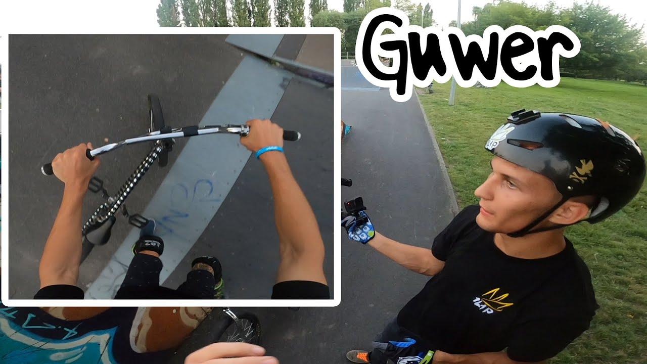 Guwer uczy mnie jeździć na bmx ! 😝 PRZYGOTOWANIE DO ZAWODÓW ROWEROWYCH 😱
