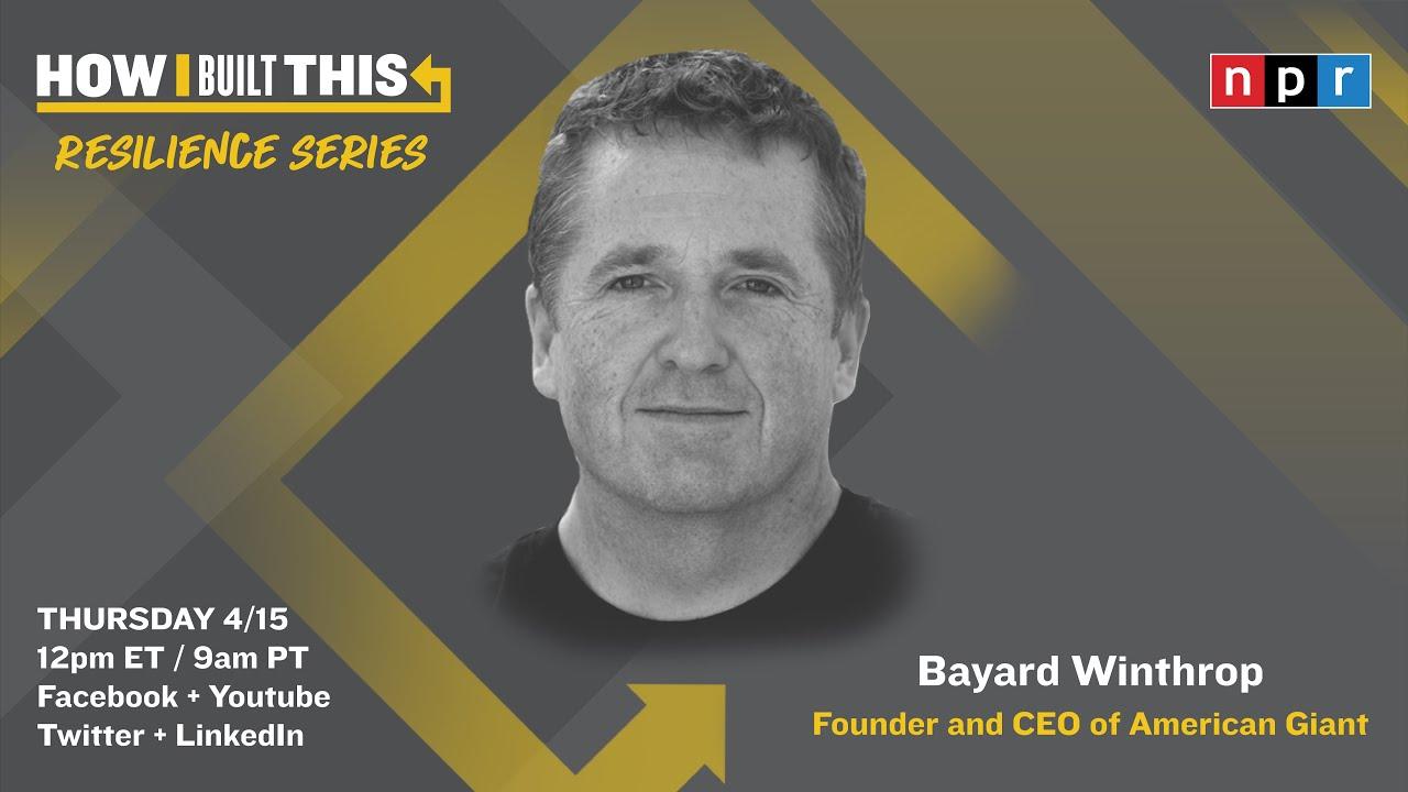 Download Entrepreneur Bayard Winthrop On Creative Problem Solving   How I Built This with Guy Raz   NPR