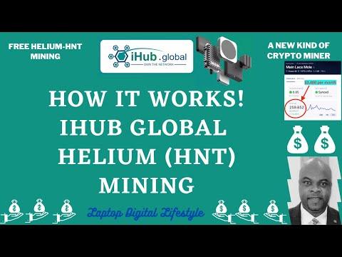 iHub Global - How It Works (FREE Helium HNT Mining)