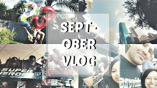 Septober Visual Vlog | My Birthday + UFC + Art Festival + Halloween Madness + Snapchat Filter Love