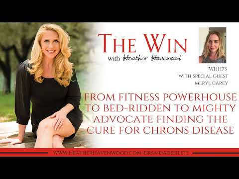 From Fitness Powerhouse to Bed ridden to Mighty Advocate to Find the Cure of Crohns Disease -...