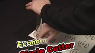 Economy Adjustable Circle Cutter cut circles  from 1
