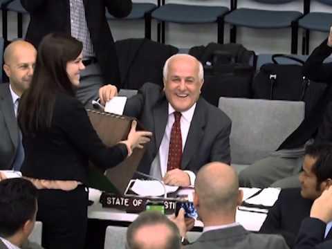 Palestine FIRST Vote at UN