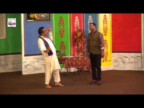 GULFAM OR TAHIR ANJUM KA MUQABLA - COMEDY STAGE DRAMA CLIP