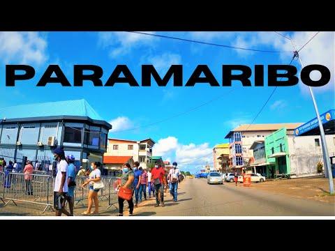 Downtown Paramaribo 2021 Suriname