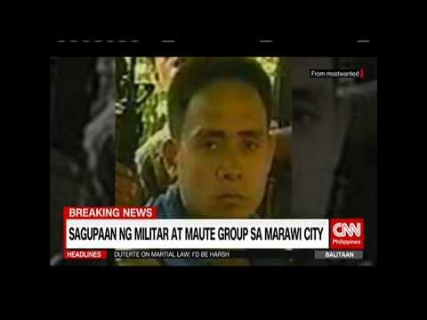 Panoorin ang Dahilan ng Labanan ng Maute Group at mga Sundalo sa Marawi City
