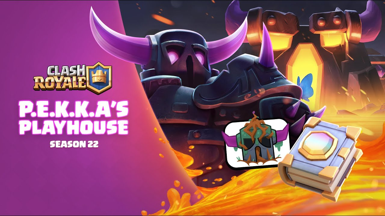 Clash Royale: 🔥 P.E.K.K.A's PLAYHOUSE 🔥 New Season! Unlock Magic Items!