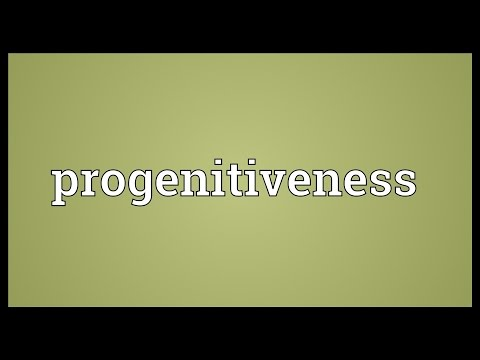 Header of progenitiveness