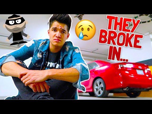 My Car Was Broken Into...