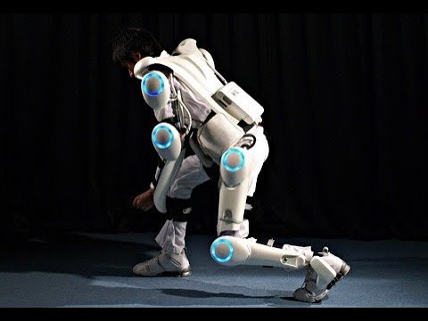 Cyberdyne build robots and exoskeletons - BBC Click